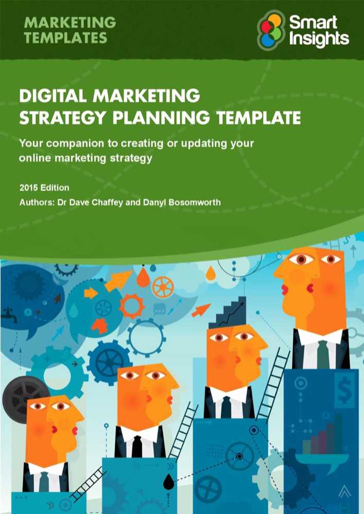 Digital Marketing Plan Template New Download Digital Marketing Plan Template for Free