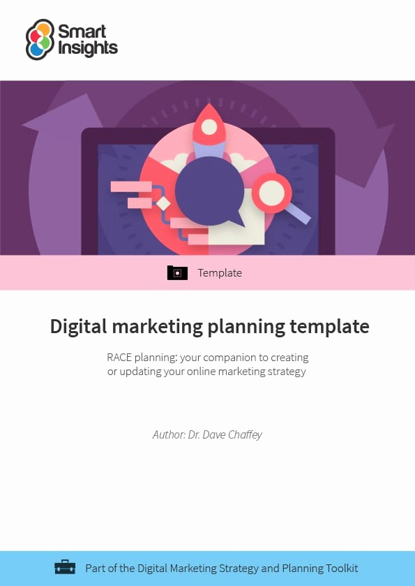 Digital Marketing Strategy Template Best Of Digital Marketing Strategy and Planning toolkit Smart