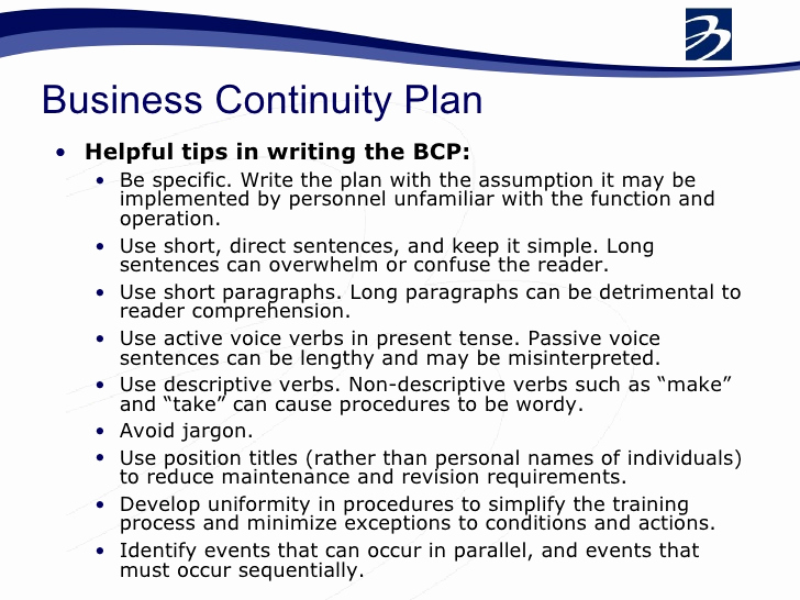Disaster Recovery Plan Example Pdf Fresh Bcp Business Continuity Plan Pdf