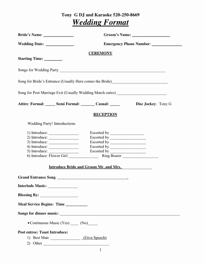 Disc Jockey Contracts Template Elegant Dj Contract In Word and Pdf formats