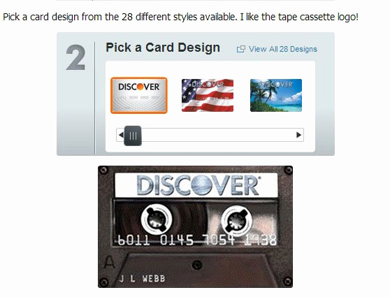 Discover Credit Card Designs Inspirational Check Out Discover's Credit Card Design