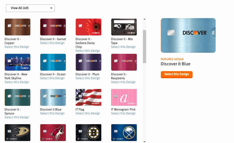Discover Credit Card Designs Inspirational Get Rich with Discover Card Cashback On Rotating