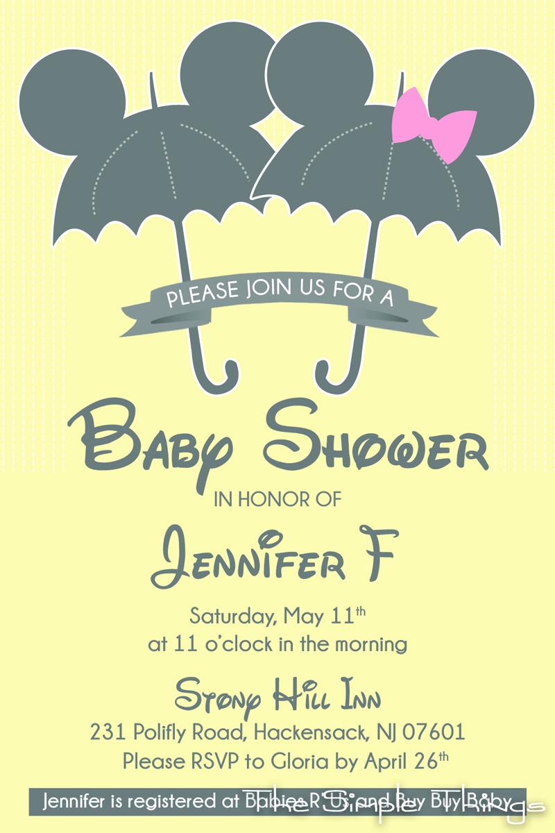 Disney Baby Shower Invitations Elegant Winnie the Pooh and Friends Baby Shower