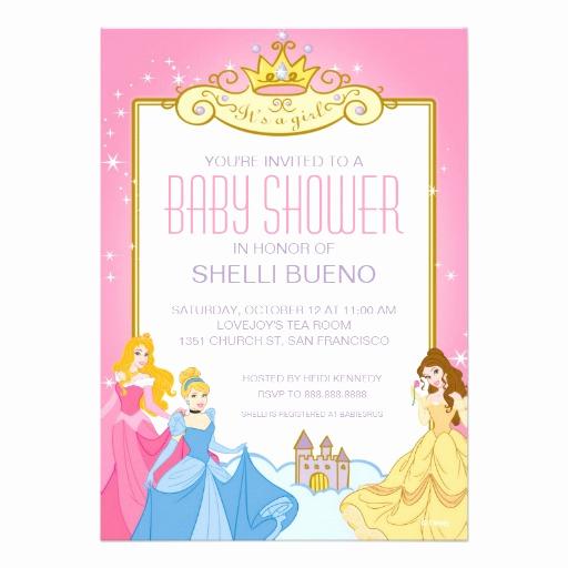 Disney Baby Shower Invitations Luxury Personalized Disney Invitations