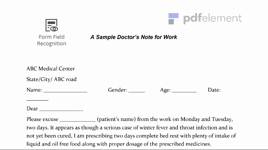 Doctors Excuse for Work Pdf Unique Free Printable Doctors Note for Work