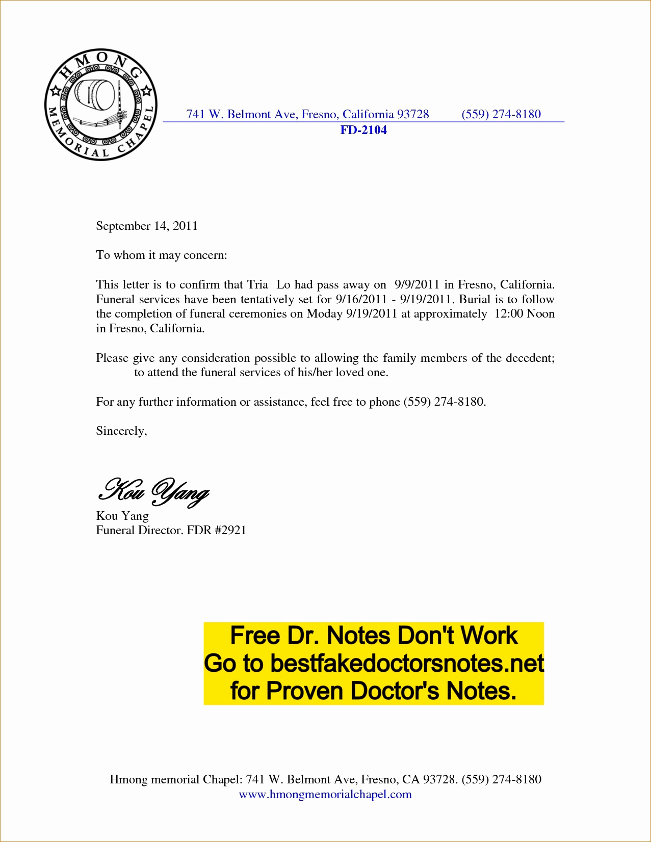 Doctors Notes for Work New 4 Easy Ways to Use A Printable Fake Doctors Note