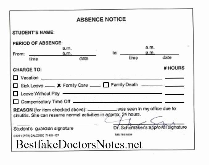 Doctors Notes for Work Unique Wrchallenge