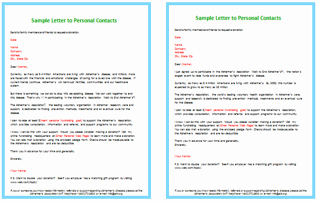 Donation Request Letter Template Best Of Donation Letter Templates for Fundraising Free Examples