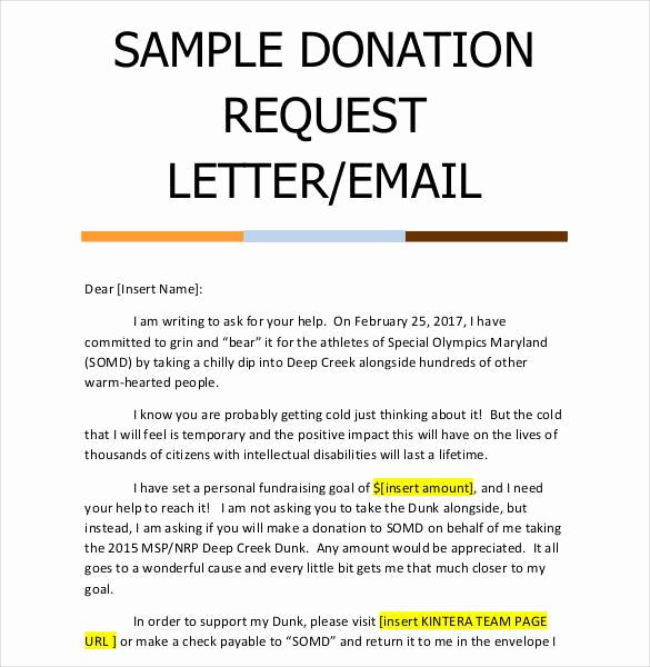 Donation Request Letter Template Elegant 29 Donation Letter Templates Pdf Doc