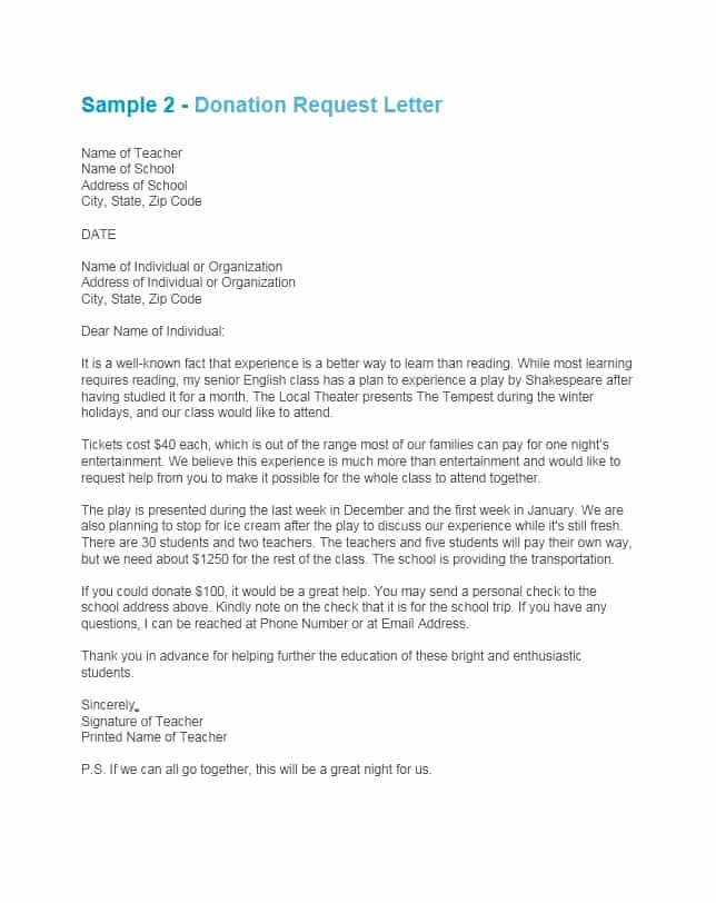 Donation Request Letter Template New 43 Free Donation Request Letters & forms Template Lab