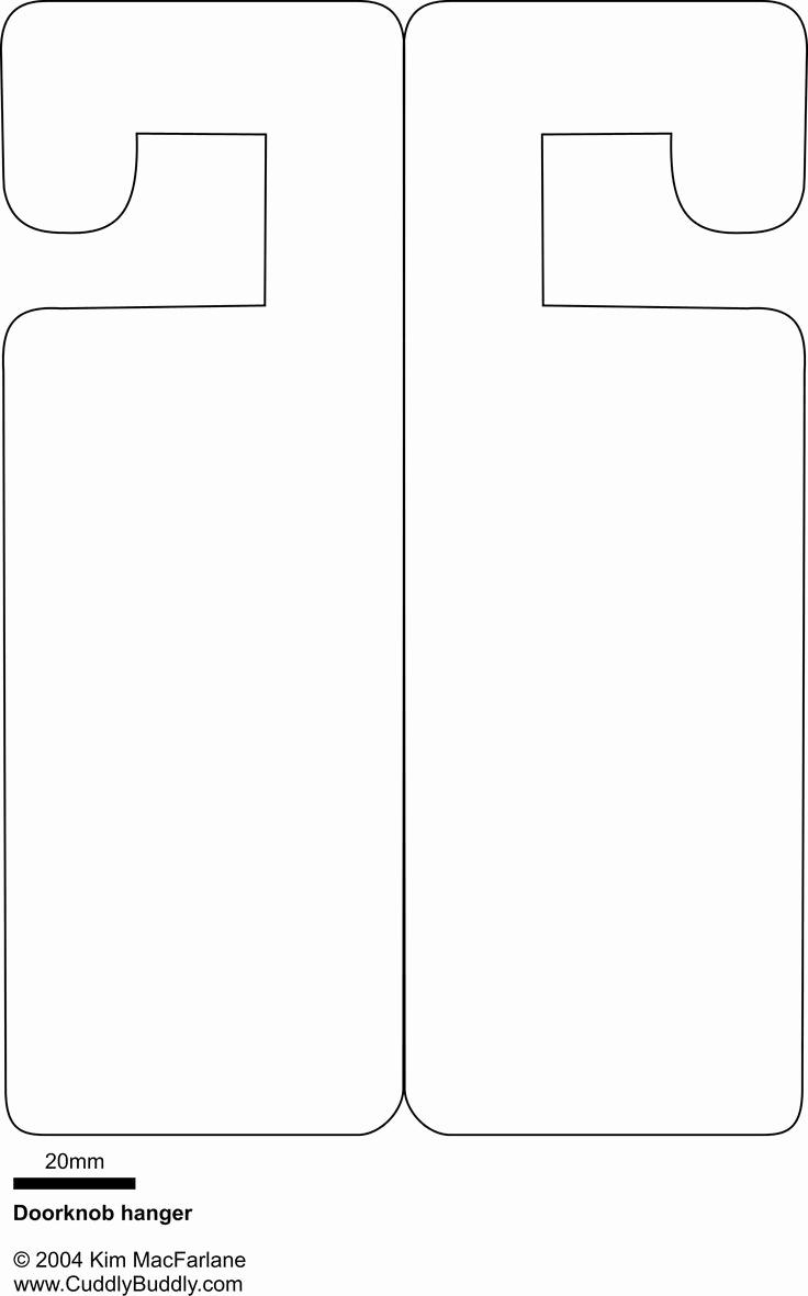 Door Hanger Template for Word Fresh 25 Unique Door Hanger Template Ideas On Pinterest
