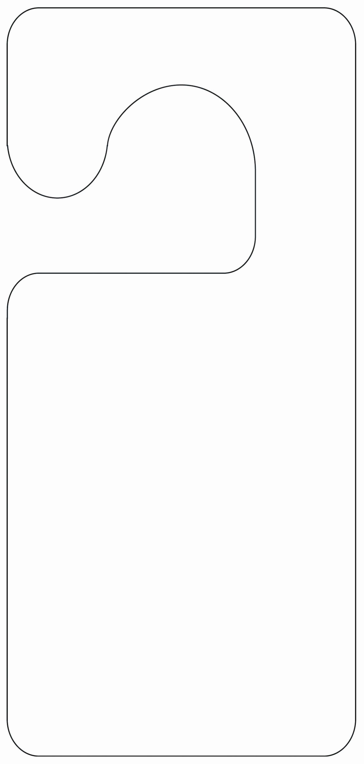 Door Hanger Template for Word Unique 5 Blank Door Hanger Template for Word Uawrc