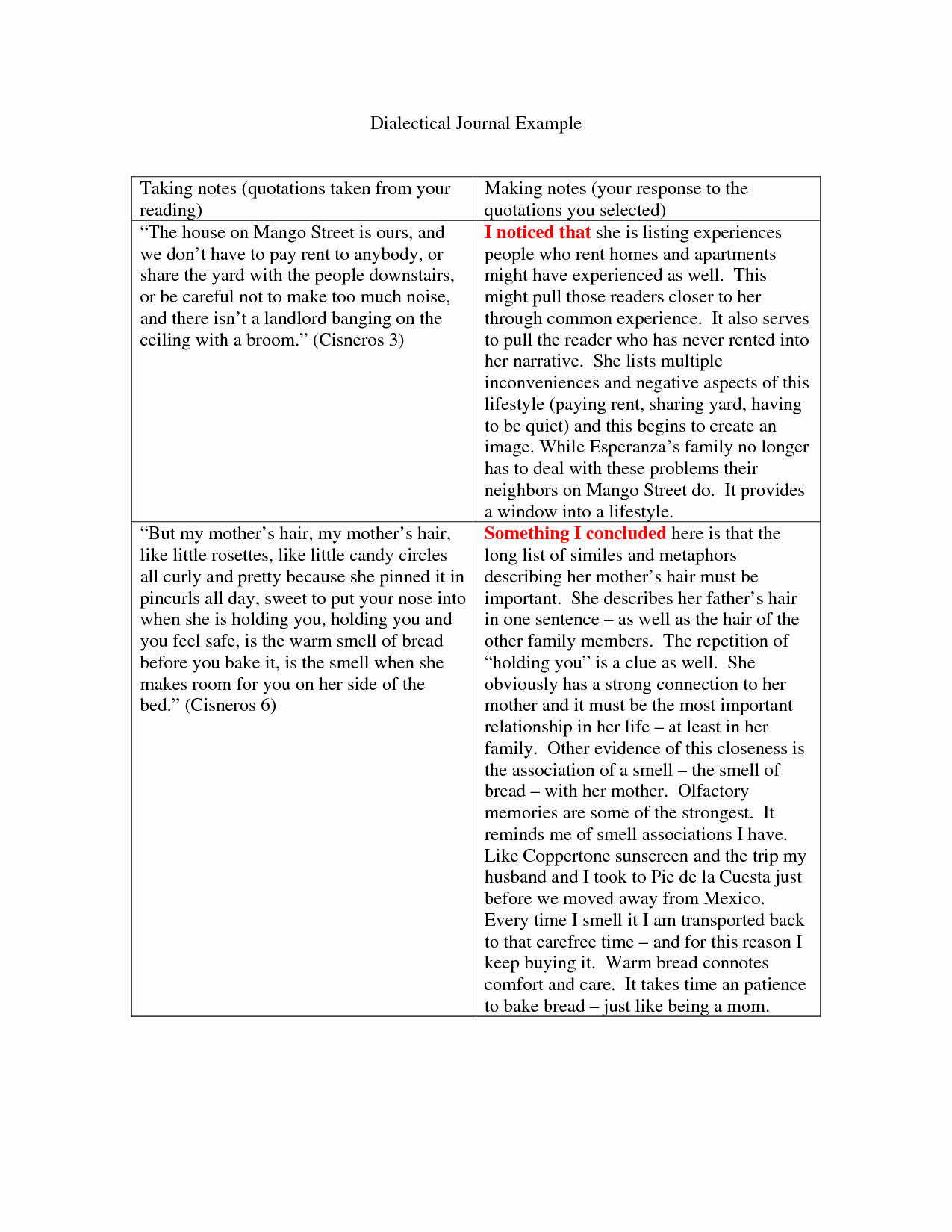 Double Entry Journal Template Lovely Dialectical Journal Template