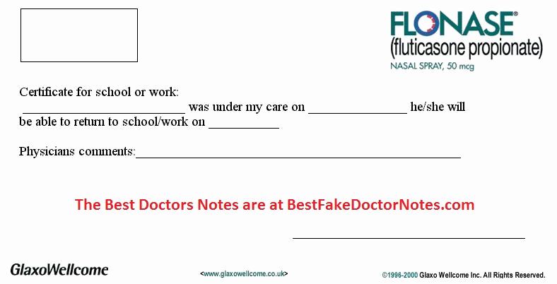 Dr Notes for Work Lovely Using A Fake Doctors Sick Note & Tricks N Tactics