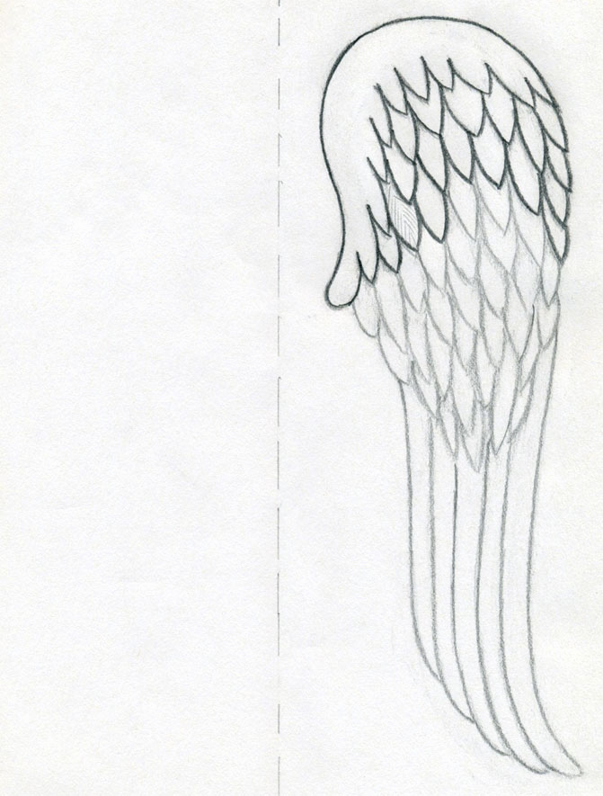 Drawing Of Angels Wings Awesome How to Draw Angel Wings Quickly In Few Easy Steps