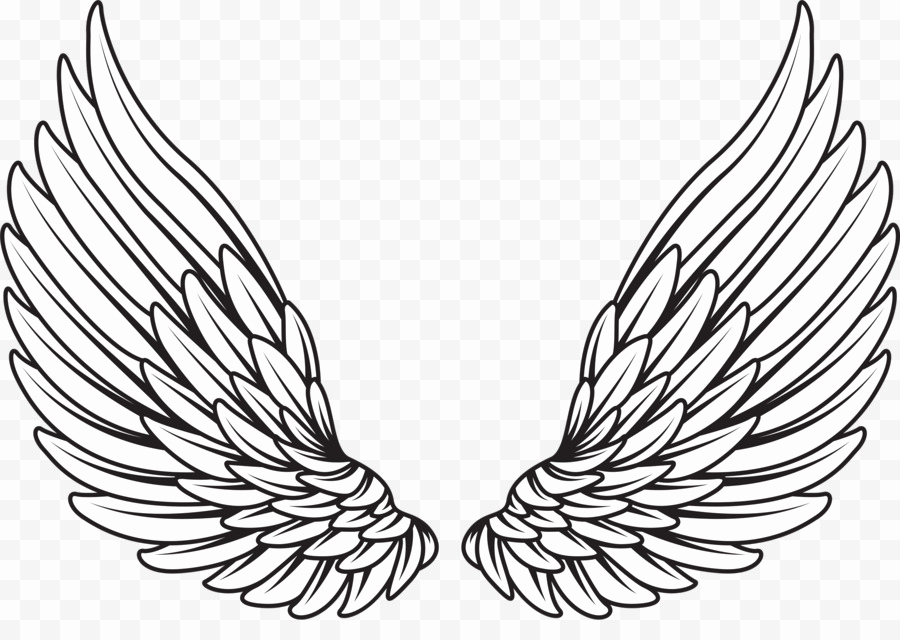 Drawing Of Angels Wings Beautiful Drawing Royalty Free Wings Angel Png 1920