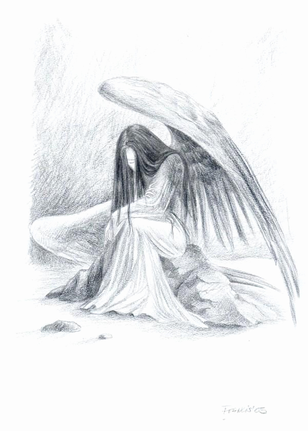 Drawing Of Angels Wings Best Of 8 Best Of Pencil Drawings Angels Beautiful