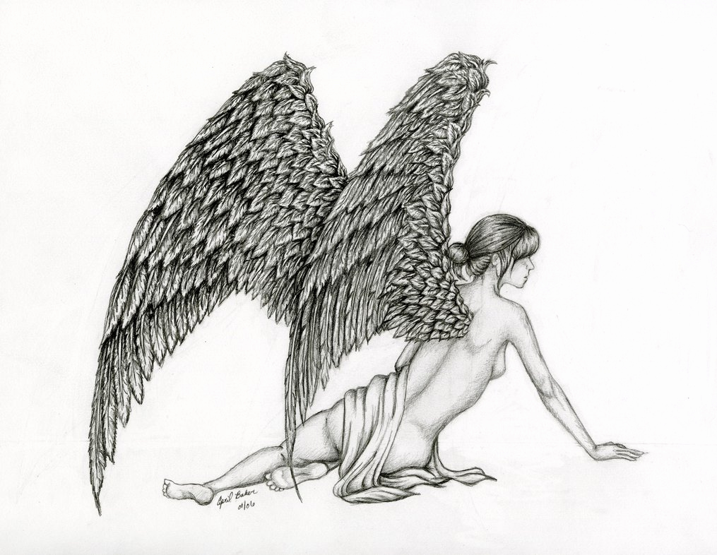 Drawing Of Angels Wings Inspirational Angel Wings by Gyakutenno On Deviantart