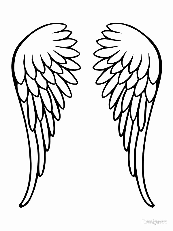 Drawings Of Angels Wings Best Of 25 Best Ideas About Angel Wings Drawing On Pinterest