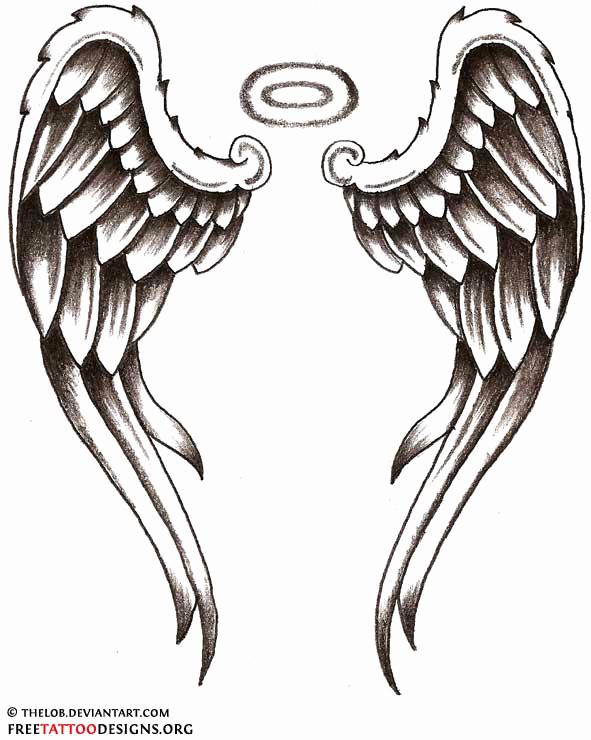 Drawings Of Angels Wings Fresh Angel Tattoos