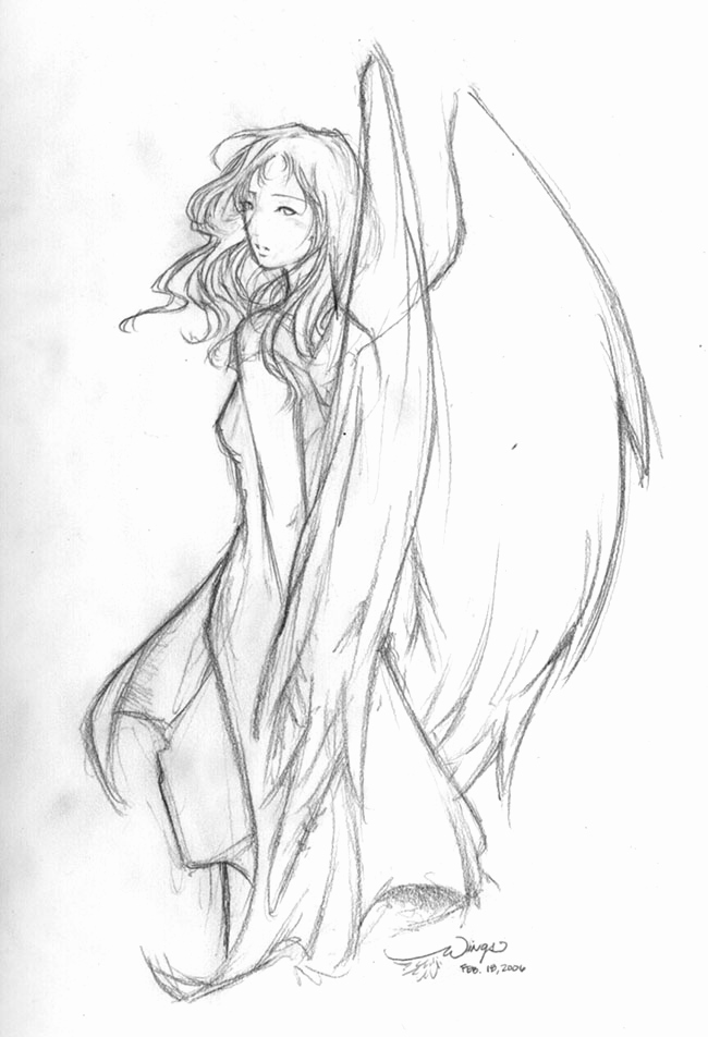 Drawings Of Angels Wings Lovely Chapter 7 Angels