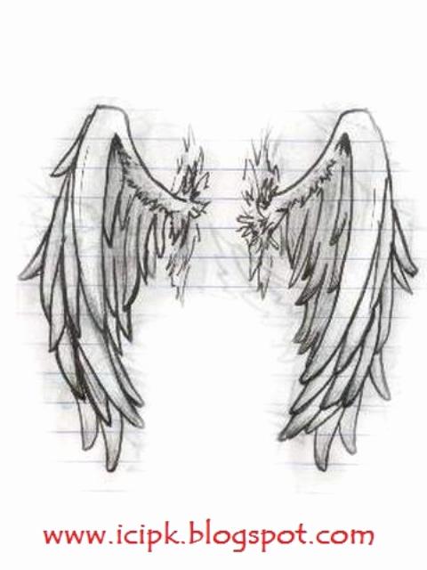 Drawings Of Angels Wings Lovely Realistic Angel Wings Drawingdenenasvalencia