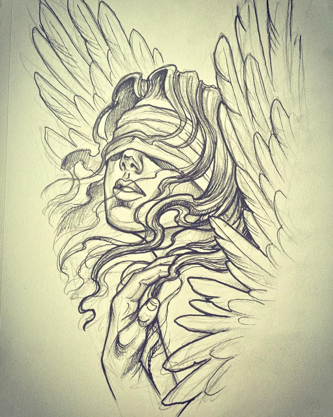 Drawings Of Angels Wings Luxury Angel for today This is Going to Be Fun Thanks for