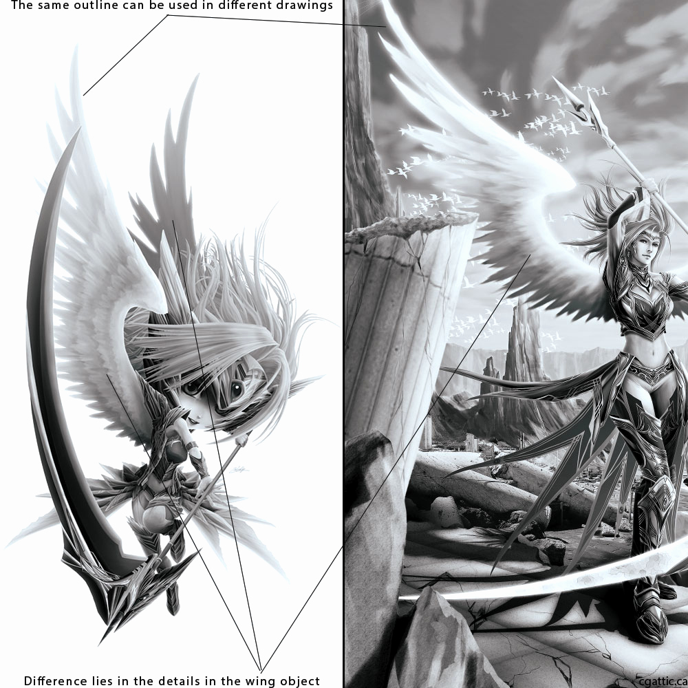 Drawings Of Angels Wings Luxury How to Draw Angel Wings In 4 Steps with Shop
