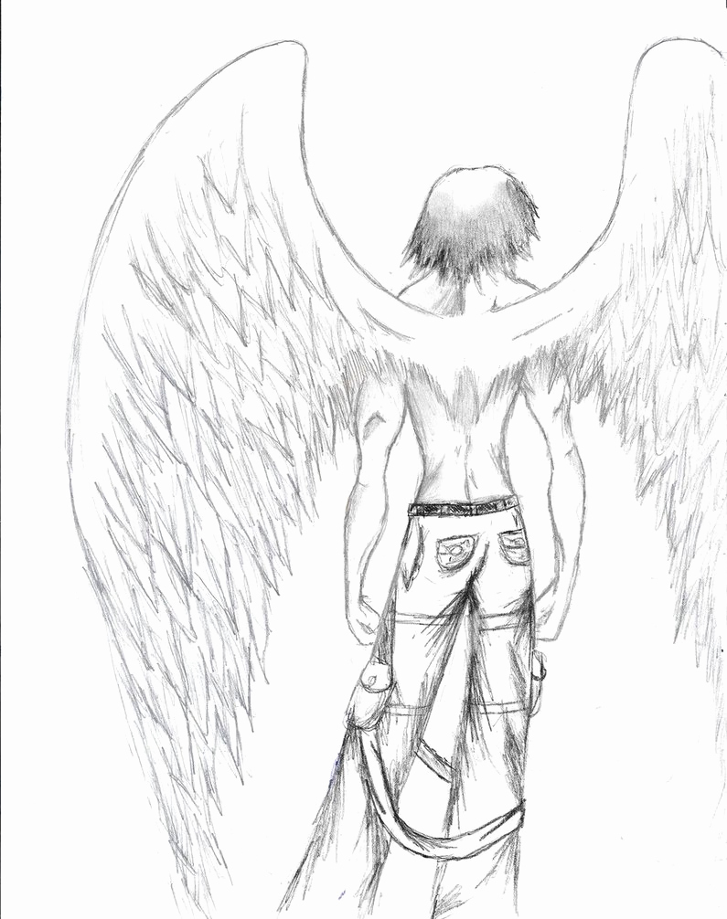 Drawings Of Angels Wings Unique Angel Wings by Taseo On Deviantart
