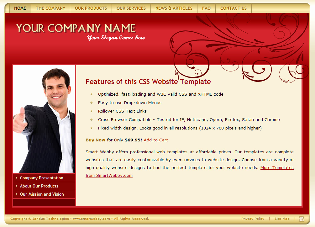 Dream Weaver Web Template Fresh Download Dreamweaver Css Site Templates Free Starttoday
