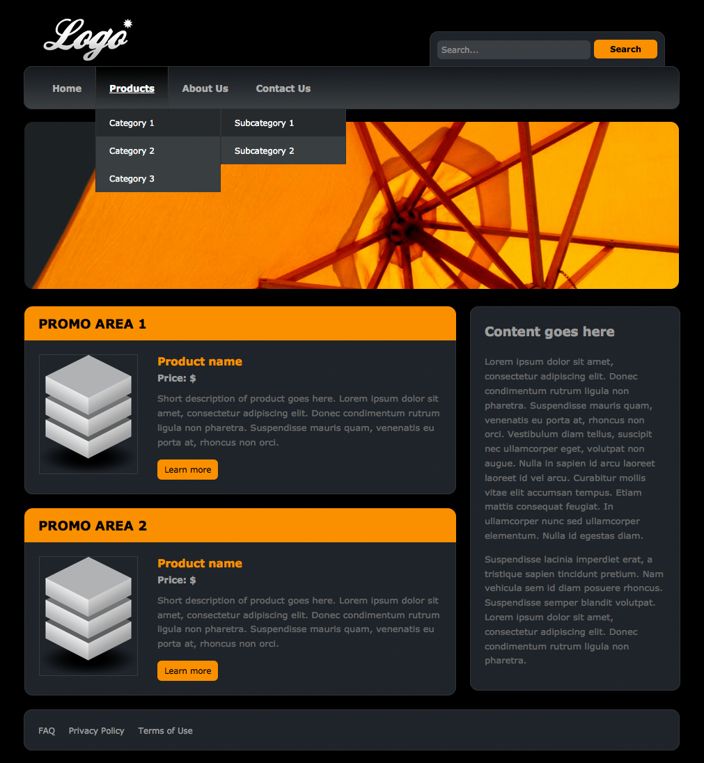 Dream Weaver Web Template Fresh Dreamweaver Templates
