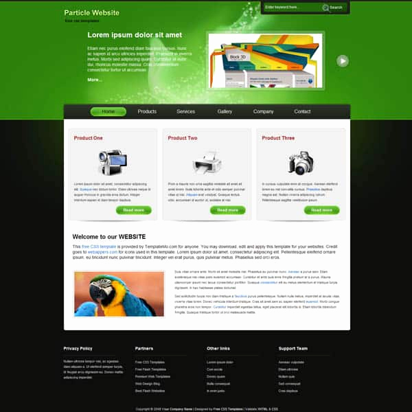Dream Weaver Web Template Lovely 25 Free Dreamweaver Css Templates Available to Download