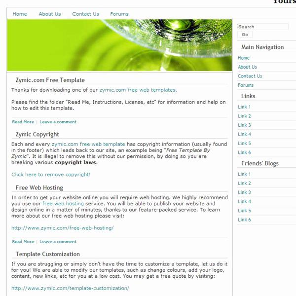 Dream Weaver Web Templates Beautiful Best Free Dreamweaver Templates for Artists