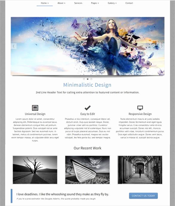 Dream Weaver Web Templates Luxury 35 Free PHP Website Templates & themes