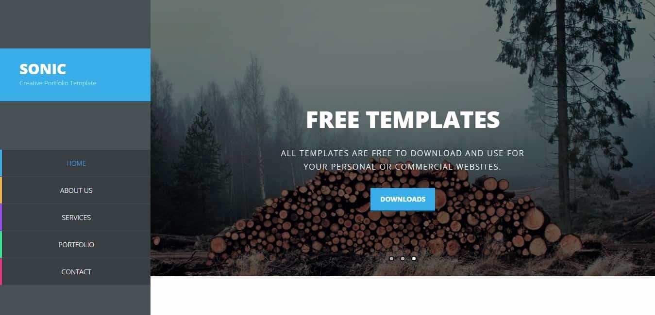 Dream Weaver Web Templates Unique 16 Best Free Dreamweaver Templates 85ideas