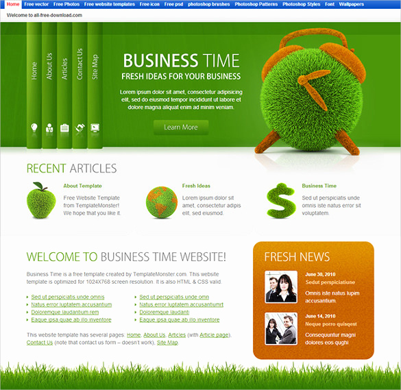 Dream Weaver Website Templates Beautiful 45 Best Premium Dreamweaver Website Templates