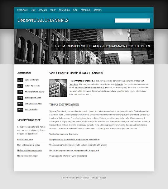 Dream Weaver Website Templates Unique top Free Corporate Dreamweaver Templates