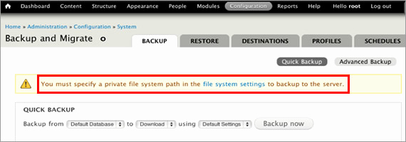 Drupal Backup and Migrate Inspirational How to Create A Drupal 7 Backup with Backup and Migrate