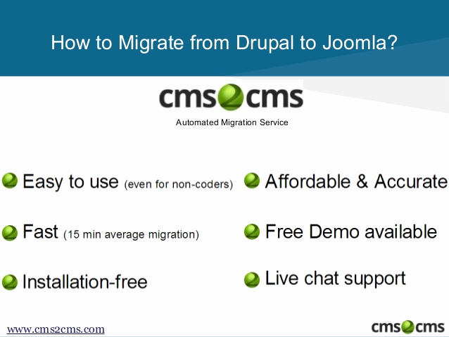 Drupal Backup and Migrate Luxury How to Migrate From Drupal to Joomla