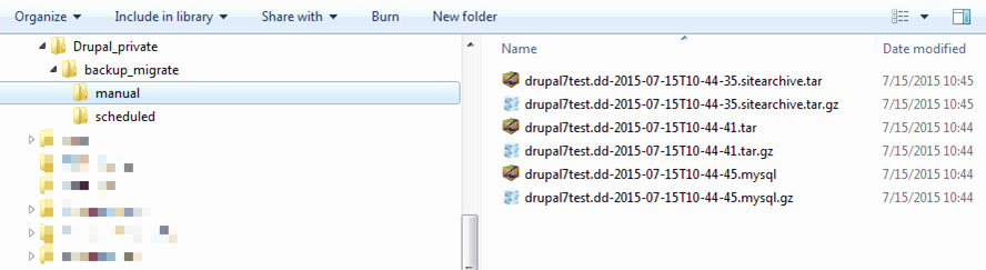 Drupal Backup and Migrate New How to Back Up and Restore A Drupal Website