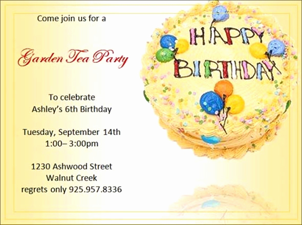 Editable Birthday Invitations Templates Free Best Of 63 Printable Birthday Invitation Templates Pdf Psd Word