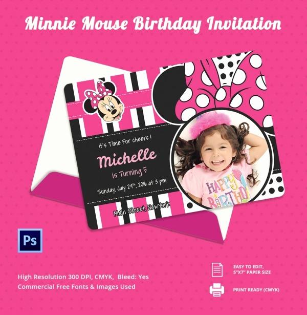 Editable Birthday Invitations Templates Free Lovely 33 Party Invitation Templates Free Psd Vector Eps Ai