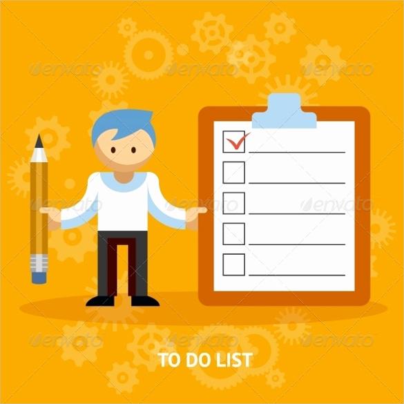 Editable Checklist Template Word Fresh Blank Checklist Template 36 Free Psd Vector Eps Ai