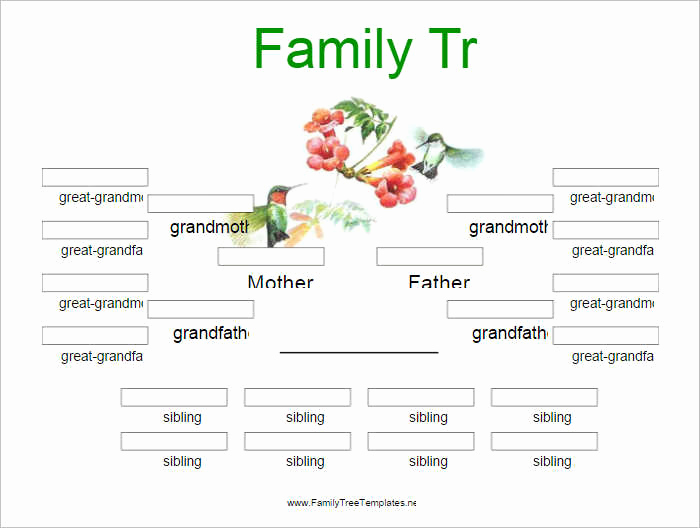 Editable Family Tree Template Luxury Editable Family Tree Template