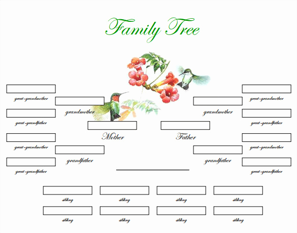 Editable Family Tree Template New Blank Family Tree Template – 31 Free Word Pdf Documents