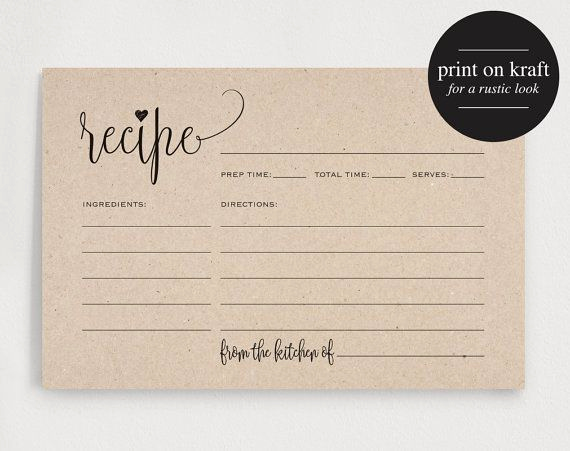 Editable Recipe Card Template Luxury Free Editable Recipe Card Templates for Microsoft Word