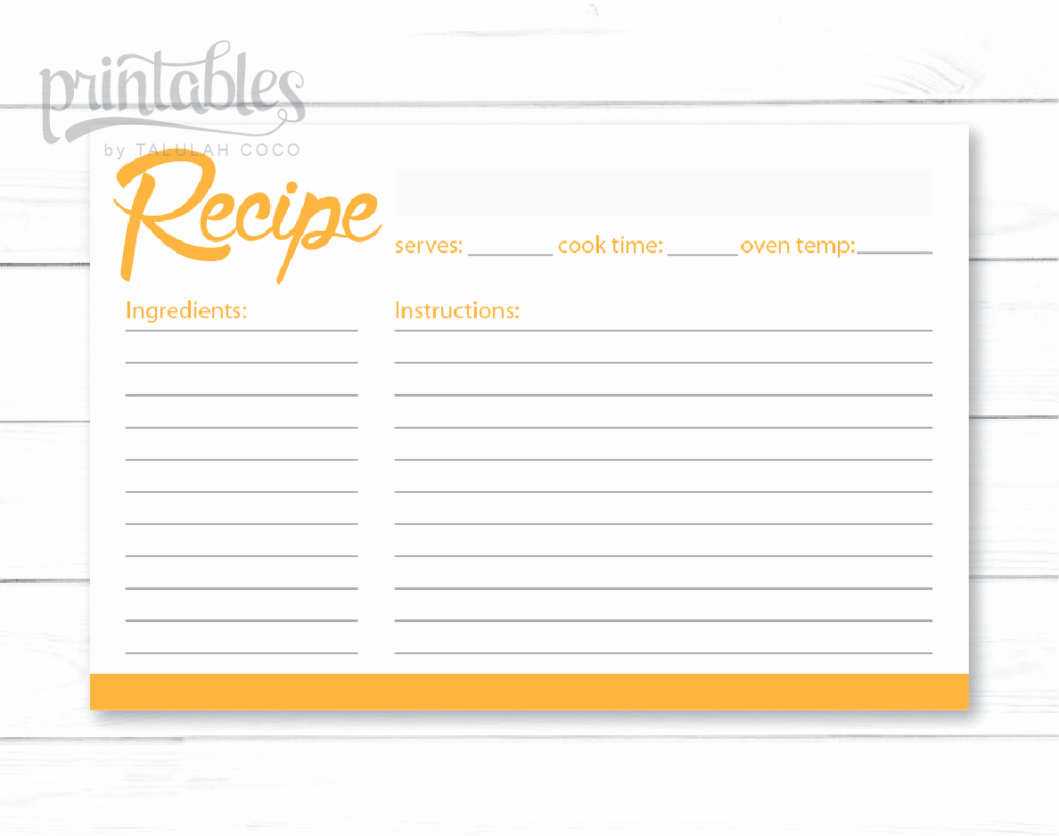 Editable Recipe Card Template New Printable Recipe Cards Editable Recipe Card Template