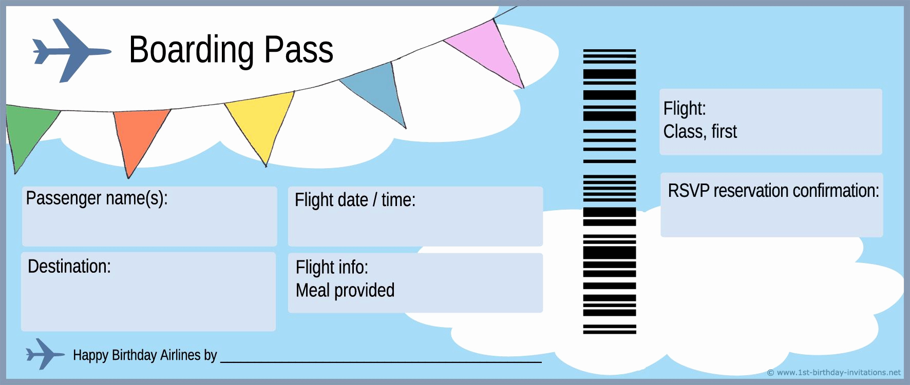 Editable Ticket Template Free Unique Free Boarding Pass Template Google Search