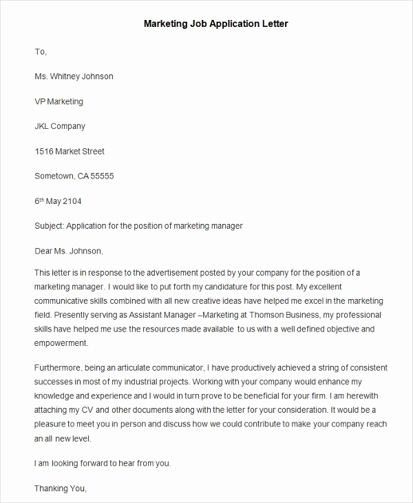 Elements Of A Cover Letter Elegant Download Free Application Letters
