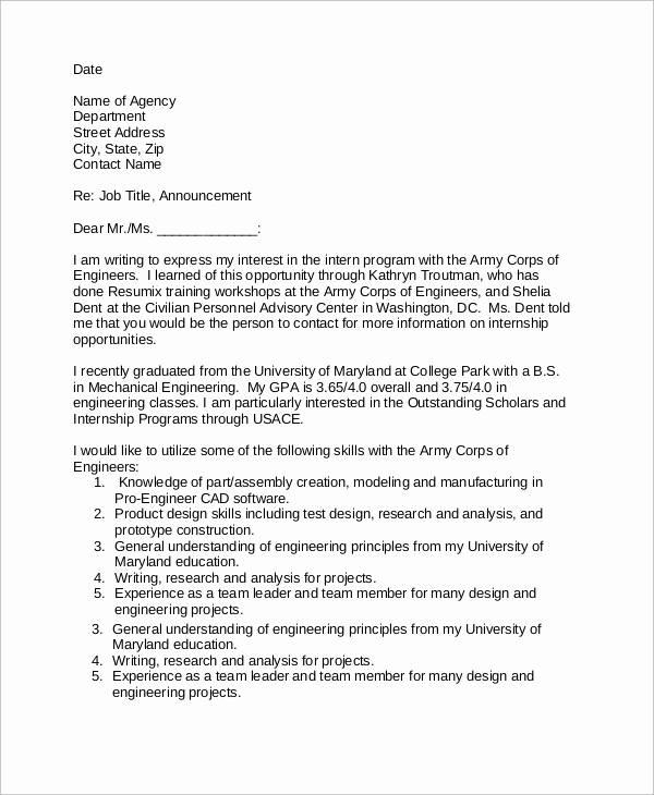 Email Cover Letter Example Beautiful Sample Email Cover Letter 8 Examples In Word Pdf